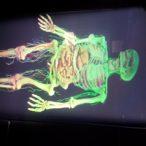 مشاهده سه بعدی بدن انسان با هولوگرام