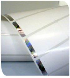 برچسب هولوگرامی کاغذی