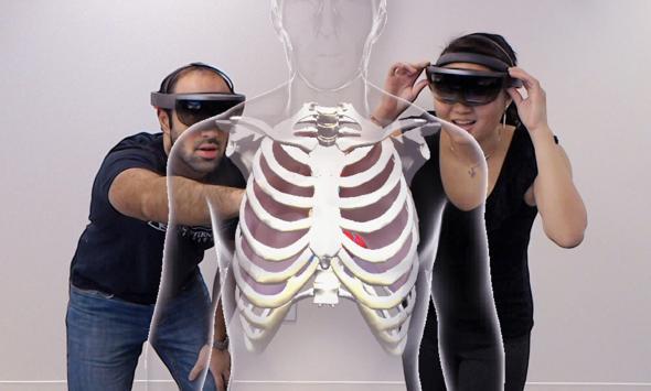 کاربرد هولوگرام در پزشکی
