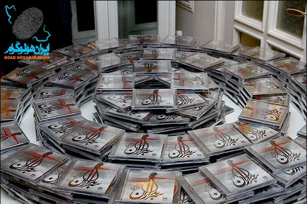 نصب هولوگرام در آلبوم های موسیقی