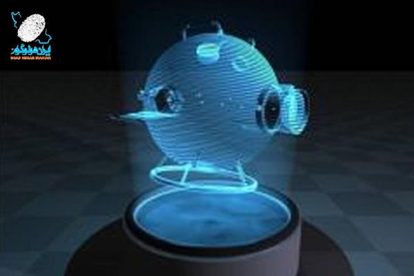 هولوگرام سه بعدی قابل لمس
