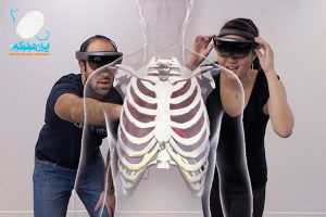 مشاهده سه بعدی بدن انسان